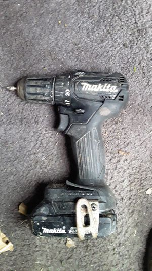 Makita drill , with battery for Sale in San Antonio, TX