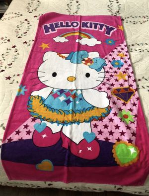 Hello Kitty Towel for Sale in Des Plaines, IL