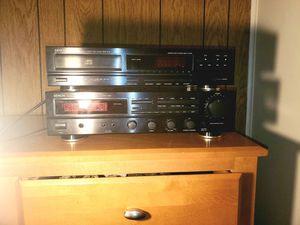 Denon Precision Audio Component AM/FM Stereo Receiver DRA-435R & Denon Dcd-570 20-bit Single Compact Disc Cd Player both for Sale in Fairfax, VA