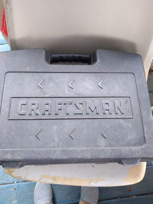 30 cash only Craftsman drill with accessories for parts only for Sale in McAllen, TX