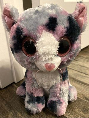 "Ty Beanie Boos Lindi The Cat 10"" Stuffed Animal Plush Toy for Sale in Chapel Hill, NC"