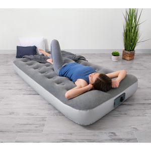 Bestway 12in. Air Mattress with Built in Ac Pump - TWIN for Sale in Houston, TX