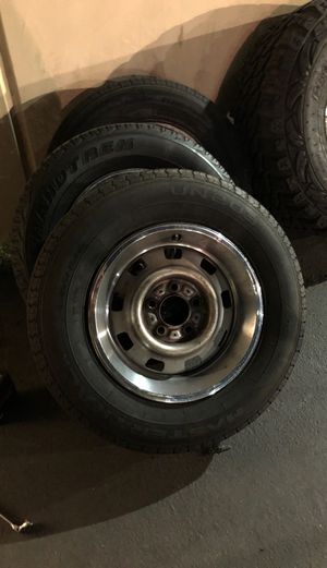 Jeep wheels and tires for Sale in Laguna Woods, CA