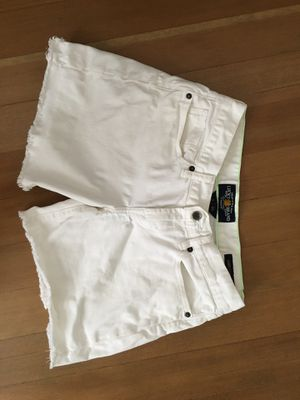 LuckyJeans white denim shorts for Sale in Fresno, CA