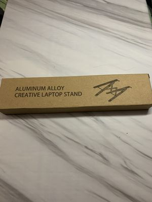 Adjustable Laptop Stand for Desk Aluminum Computer Riser Ergonomic Foldable Portable Tablet Holder Compatible with iPad MacBook Pro Air Lenovo Dell X for Sale in Sarasota, FL