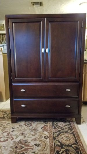 Armoire and matching end table for Sale in Margate, FL