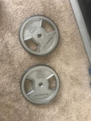 25lbs weights for Sale in Hermosa Beach, CA