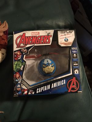 Brand new captain america flying ufo ball for Sale in Sacramento, CA