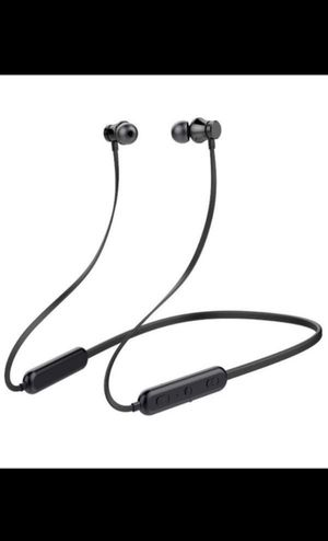 Brand new wireless Bluetooth Headphones, 20Hrs Playtime,Sport / Gym Running, w/mic, Compatible with iPhone and Android (Black) for Sale in Redmond, WA