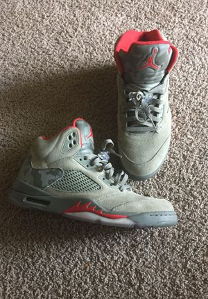 Jordan 5 camo size 11 great condition!! for Sale in Ashburn, VA