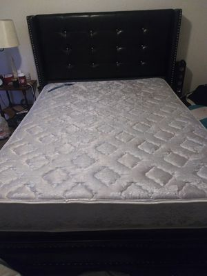 Queen Size leather bed(frame) for Sale in Kansas City, MO