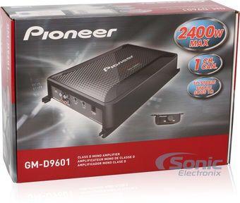2 pioneer subwoofer speakers champion series + 2400 W amplifier pioneer champion series