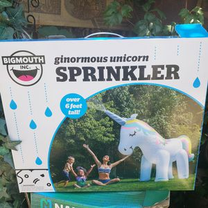 Unicorn Sprinkler water pool party for Sale in Los Nietos, CA