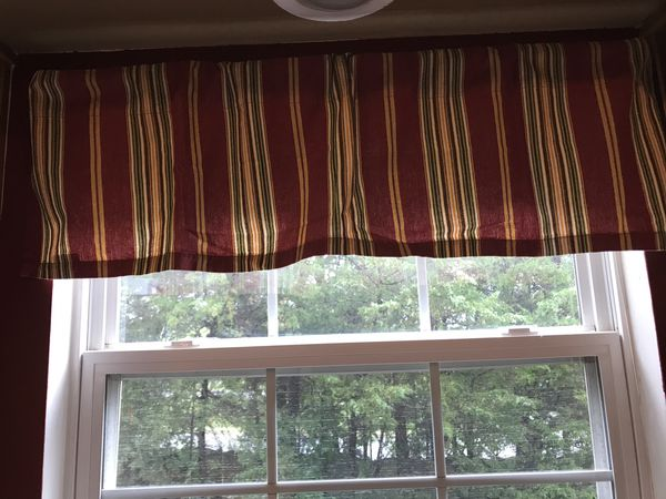 Pottery Barn kitchen curtains