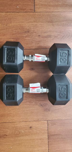 35lb Dumbbells (set) for Sale in Midlothian, VA