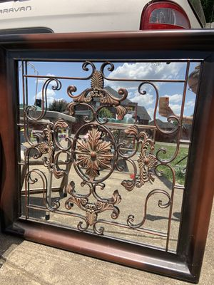 40x40 square wall decor with mirrored back for Sale in Smyrna, TN