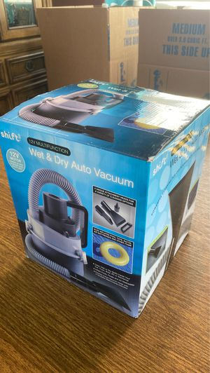 Auto Vacuum, wet & dry, 12volt, with attachments for Sale in Huntington Beach, CA