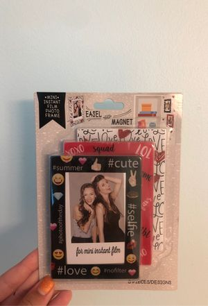 Mini FujiFilm Photo Frames (easel & magnet) for Sale in Toccoa, GA