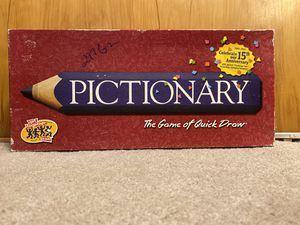 Pictionary 15th Anniversary Edition Family Board Game for Sale in Portland, OR