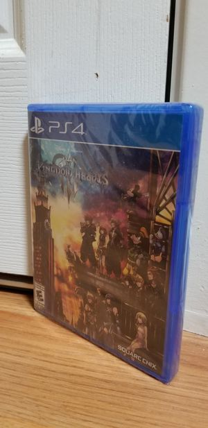 BRAND NEW KINGDOM HEART III- PS4, PRICE FIRM, TRADE FOR Sekiro OR Madden 20 only for Sale in Garden Grove, CA