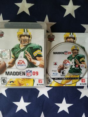 Madden NFL 09 (PS3) for Sale in US