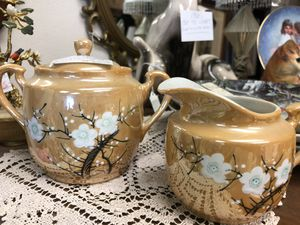 1940s Teapot and saucer , made in Japan for Sale in Covina, CA