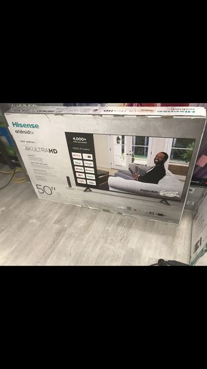 50 INCH HISENSE ULTRA ANDROID SMART TV for Sale in Chino Hills, CA