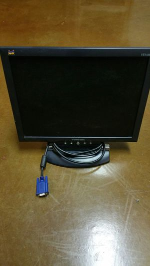 "Viewsonic 15"" LCD Computer Monitor for Sale in Silver Spring, MD"