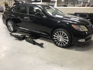 22 inch Canino design wheels 5x120 Lexus BMW for Sale in North Miami, FL