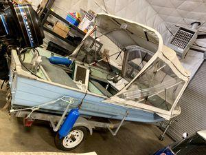 16 Foot Aluminum Fishing Boat for Sale in Ridgefield, WA