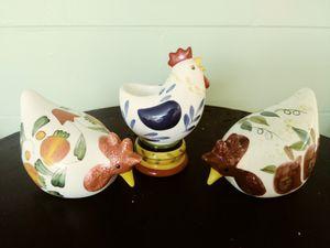 Rooster figurines for Sale in Saint Petersburg, FL