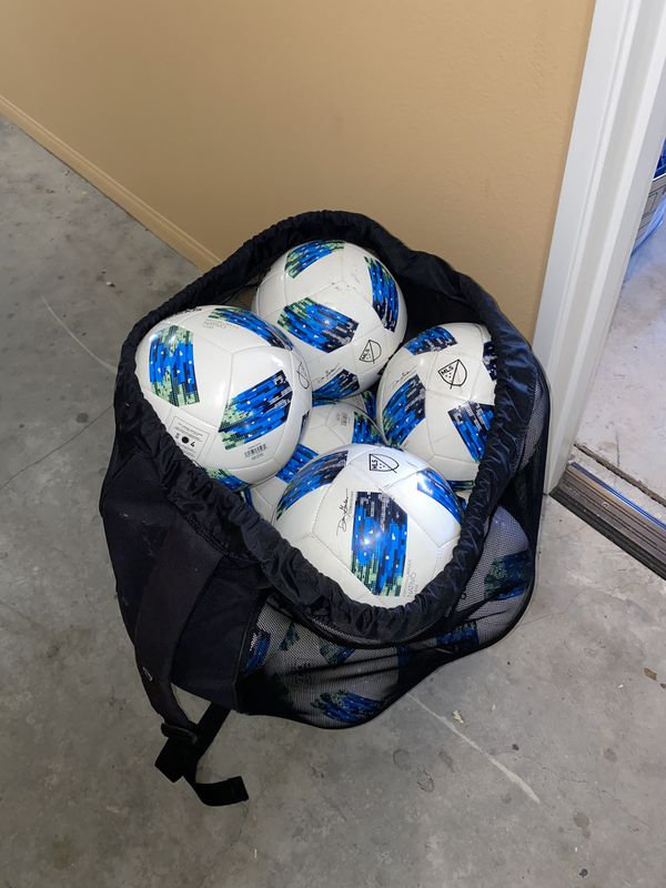 Adidas soccer balls size 4