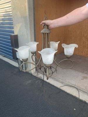 Chandelier style hanging light $10 for Sale in Beaumont, CA