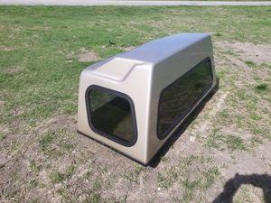 Full size truck fiberglass sleeper cab camper extension for Sale in Austin, TX