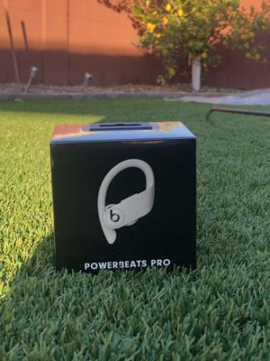 Apple Beats PowerBeats Pro BRAND NEW unopened earbuds, Ivory for Sale in Gilbert, AZ