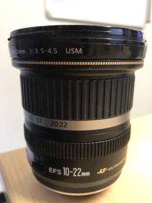 Canon EF 10-22mm f/3.5-4.5 USM Lens for Sale in Denver, CO