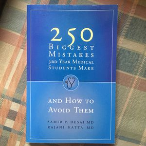 250 biggest mistakes 3rd year medical students make for Sale in Detroit, MI