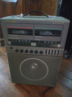 Radio shack working karaoke machine for Sale in Norfolk, VA