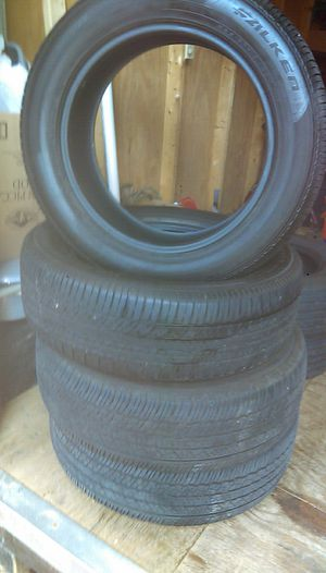Set Tires good use brand Toyo A25 235/65R!8 for Sale in Woodbridge, VA