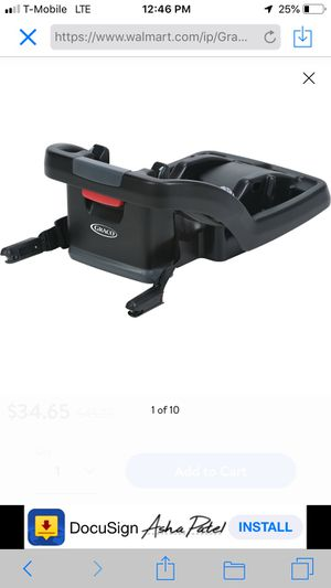 new Graco car seat base for Sale in Charlotte, NC