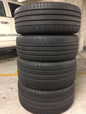 Michelin 225/45/18 Fronts 255/40/18 Rears (BMW TAKEOFFS) for Sale in Glen Ridge, NJ