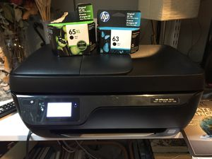 Printer HP printer with extra new cartridge for Sale in Seattle, WA