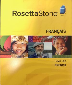 ROSETTA STONE FRENCH Level 1 & 2 for Sale in Chicago, IL