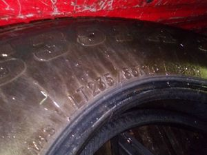 235 85 R16 tires I have 4 of them 95 %of life for Sale in Olympia, WA