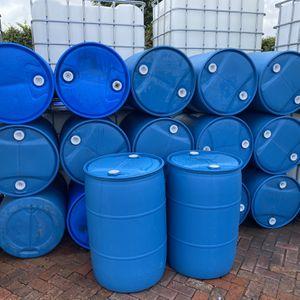 55 gallons plastic barrels , barrel , barriles , barril , drums , drum rain collector for Sale in Miami, FL