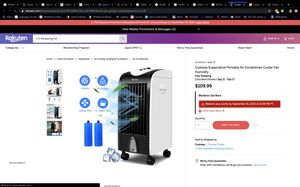Air cooler for Sale in Corona, CA