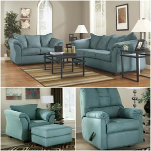 IN STOCK /Darcy Sky Living Room Set $39 DOWN PAYMENT for Sale in Arlington, VA