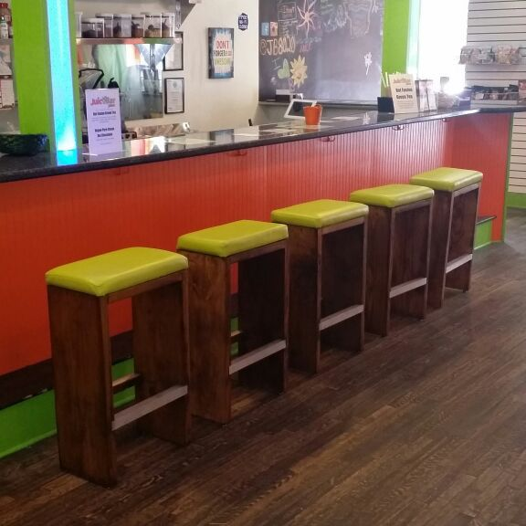 Custom wood stools, tables and benches!