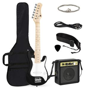 30in Kids Electric Guitar Instrument Starter Kit w/ 5W Amp, Strap, Case for Sale in Dublin, OH