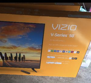 Vizio 50 inch New 4K Smart Tv for Sale in Frisco, TX